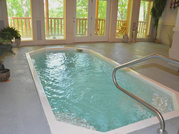Bear Naked - Great Honeymoon Cabin With A Heated Indoor Swimming ...