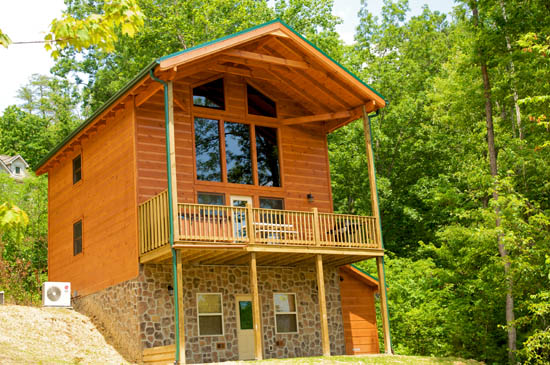 Cabin With Swimming Pool In Smoky Mountains Near Pigeon