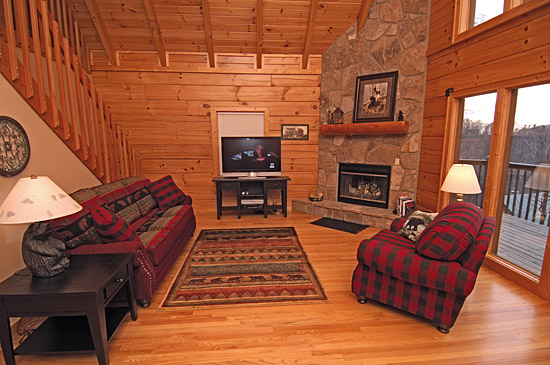 Sweet Haven 3 Bedroom Cabin With A Movie Theater And Exceptional Privacy